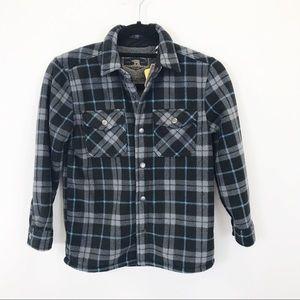 NWT Freedom Foundry boy's Sherpa lined jacket 7/8